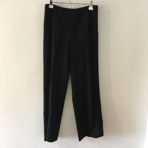 Talbots black wide leg pants